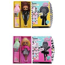 L.O.L. Сюрприз оригинальная коробка волосы цели DIY девушка игрушка магия DIY lol куклы фигурка модель девушки игрушка подарок(Китай)