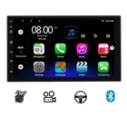 Car Gps Radio Car Stereo Radio Wholesale Car Audio System 7 Inch Bluetooth Gps Autoradio 1 16G Universal Touch Screen Car Video 2 Din Stereo Android Car Radio
