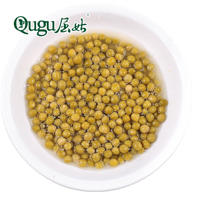 Canada green peas in canned food with cheap price