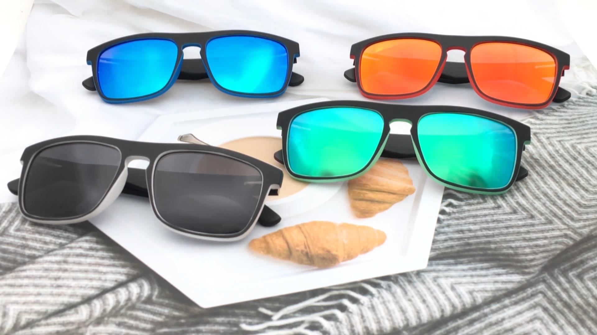Wholesale high quality PC frame  sun glasses bamboo  temple  cheap sunglasses
