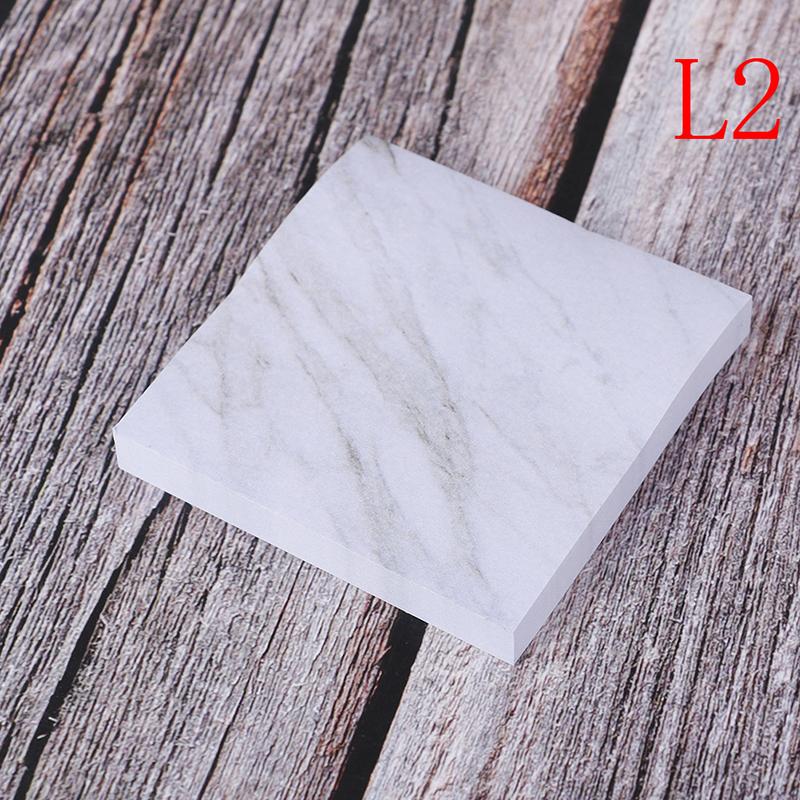 2020 креативные прямоугольные камни липкий блокнот для заметок планировщик наклейки канцелярские самоклеящиеся(Китай)