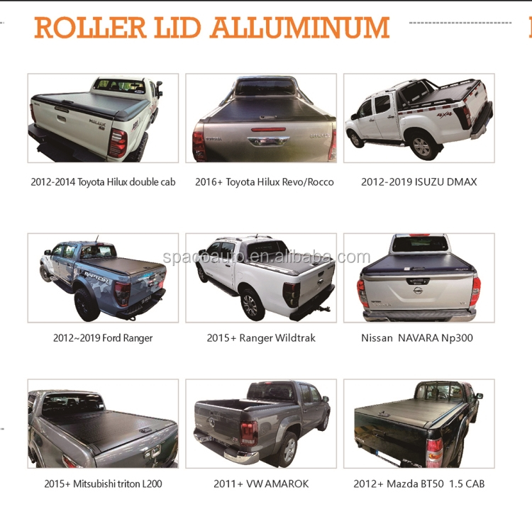 Roller Lid Triton Tonneau cover for Mitsubishi