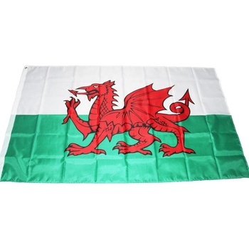 Wholesale 100% Polyester 3x5ft Stock United Kingdom Welsh Wales Flag