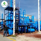 Plastic oil distillation Tyre pyrolysis oil to diesel Production plant