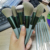 brushes makeup custom logo professional new arrival 13 piece customised makeup brushes green makeup brush set