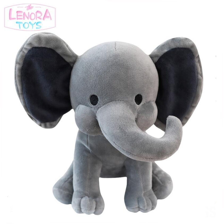 Manufacturers direct comfort dolls children gifts elephant pillow long trunk small elephant doll plush toys customized