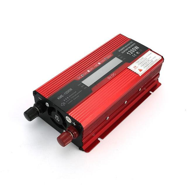 150W Intelligent Dc To Ac Car Power Inverter dc 12V To 110V