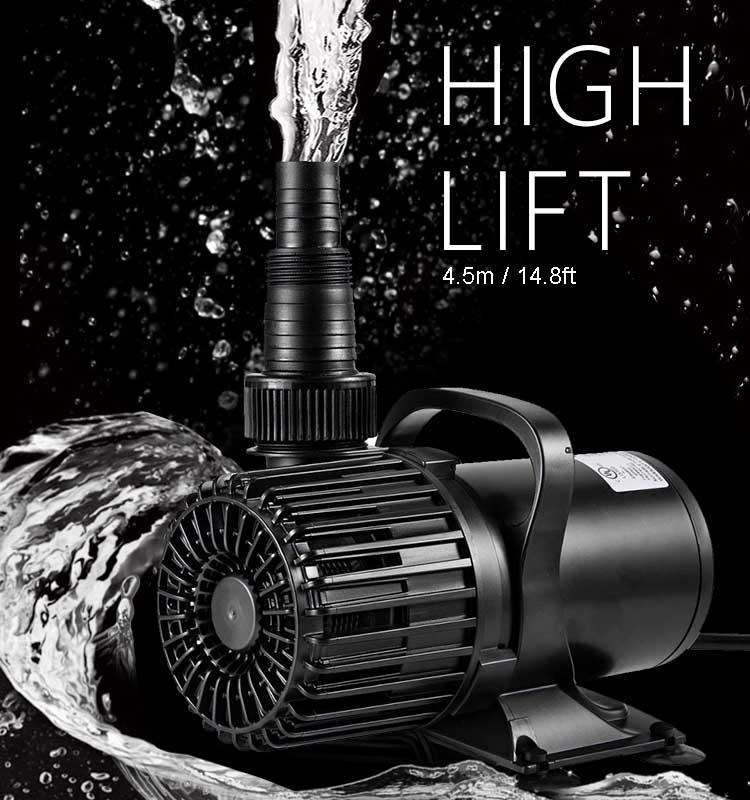 2700GPH,10000 l/h ,120W,Submersible water pump, Pond pump ,Garden water pump for Fountain, Irrigation,Waterfall, Aquarium