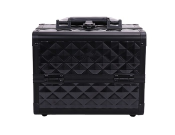 Wholesale Vanity Case Professional Makeup Box with mirror high quality Portable makeup case
