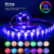 LED+Strip+Lights colorful 5v usb controlled RGB led flexible strip light with remote tape bedroom exhibition TV back light kit