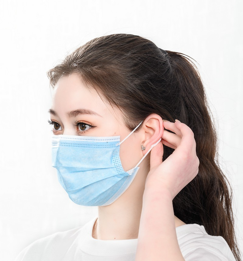 Disposable Surgical Mask Non Woven Face Mask Breathable Medical Face Mask with CE