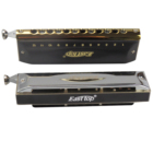 EASTTOP key of LowC 12holes chromatic harmonica brass reedplates ABS plastic case China manufacture