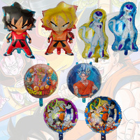 2020 Wholesale Cute Japanese Anime Dragon Ball Cartoon Birthday Party Decoration Foil Printed Balloon for Kids