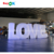 led giant inflatable love letter for advertisement