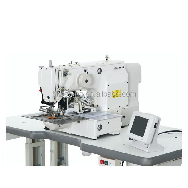 Japan used brother 210D eletronic industrial pattern sewing machine for leather