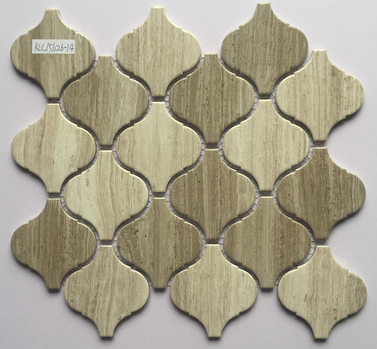 Hot selling lantern ceramic mosaic porcelain tile for bathroom and kitchen Foshan China