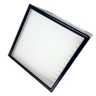 china wooden frame deep pleat hepa air filter wood box clapboard big air cfm filters