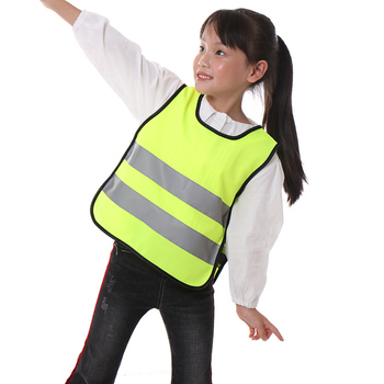 Custom print kids reflective safety vest children New student fashion safety vest
