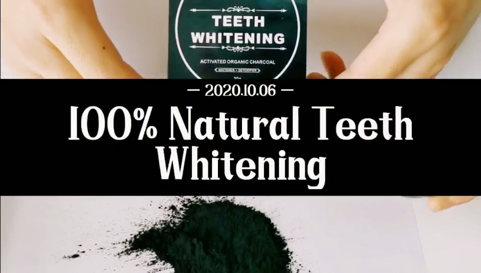 100% ORGANIC COCONUT ACTIVATED CHARCOAL NATURAL TEETH WHITENING POWDER FOOD GRADE TEETH WHITENING POWDER 30g