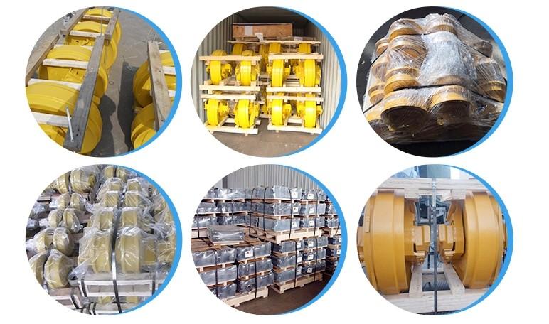 עבור חפירות משמש פלדה מסלול מסוע שרשרת בניית מכונת להשתמש