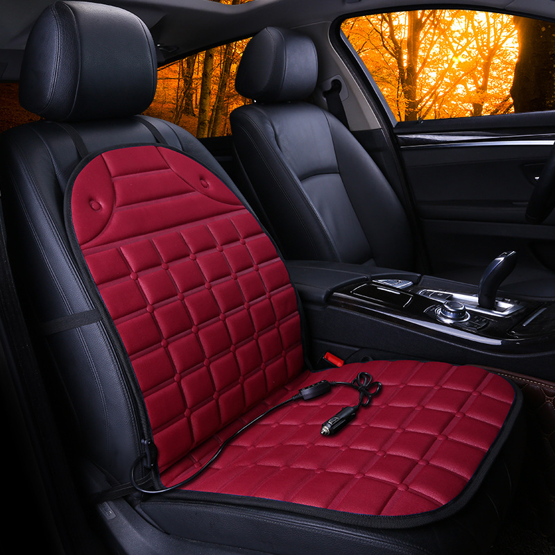 Quiki Hot Sale 12v Portable Thickening Electric Heated Car Seats Cushion Heater Warmer In Winter Buy Heated Car Cushion Heating Cushion Car Seat Cushion Product On Alibaba Com