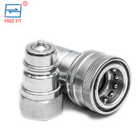 China DongGuan Supplier superior flat face quick couplings/hydraulic fittings/hose connectors