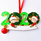 Gift Christmas 2020 Promotional Tree Decoration Gift Metal Christmas Ornaments For Family