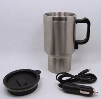 Wholesale Custom 450ML Stainless Steel Car Travel Heated Thermo Mug For Promotion