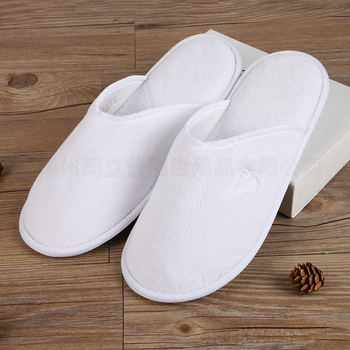 Manufacture customized washable disposable hotel slippers wholesale for guests