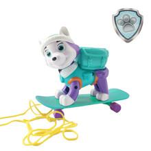 Щенячий патруль набор игрушек Everest трекер собака скейтборд щенки снег может быть деформирован патруль Patrulla Canina фигурку игрушки(Китай)