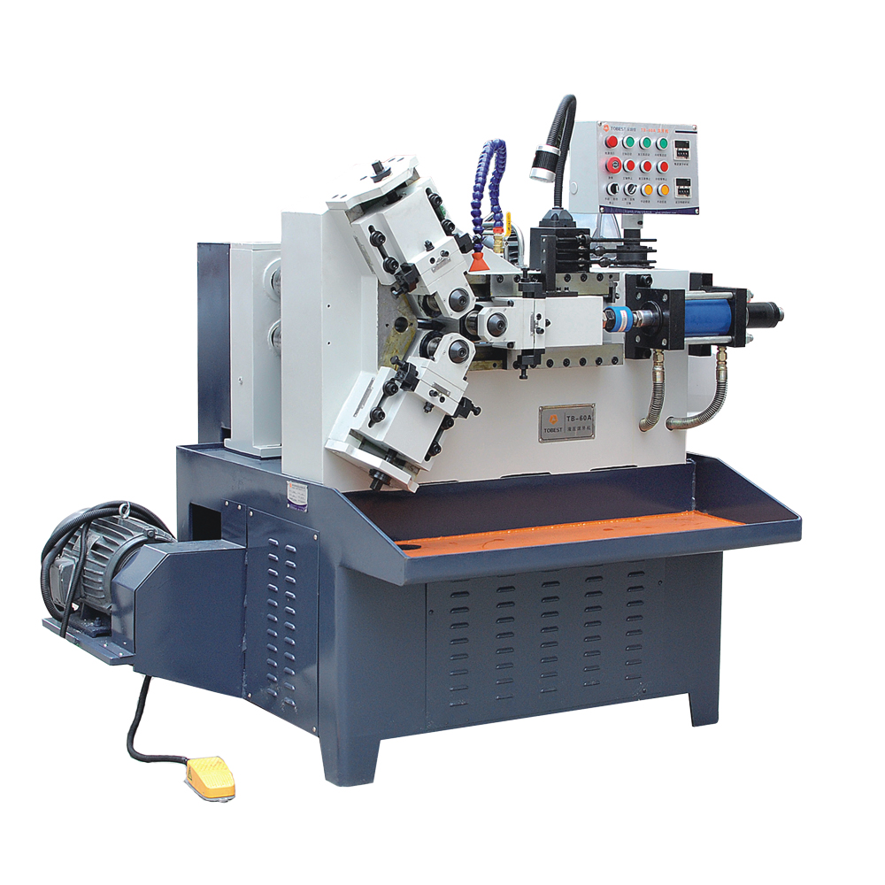cnc rolling machine for the production of screws and bolts