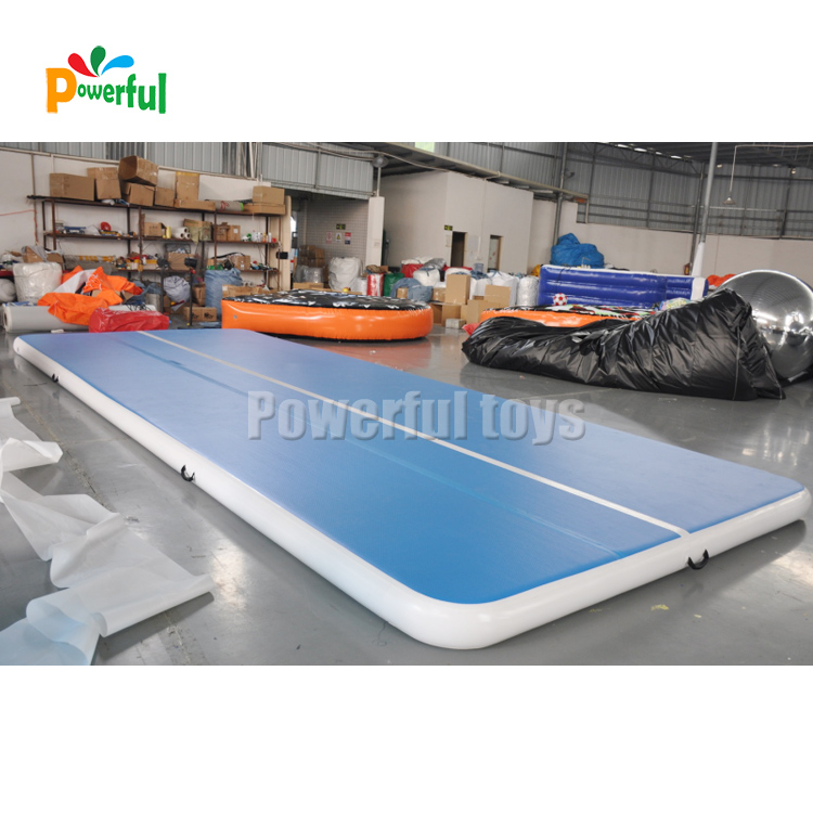 Gymnastics outdoor inflatable air floor 3m airtrack slip n slide