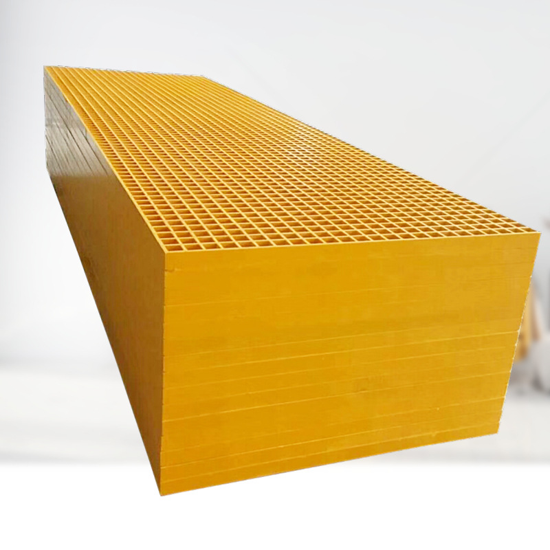 Antislip GRP/FRP/Fiberglass Grating for Drainage Grating Use