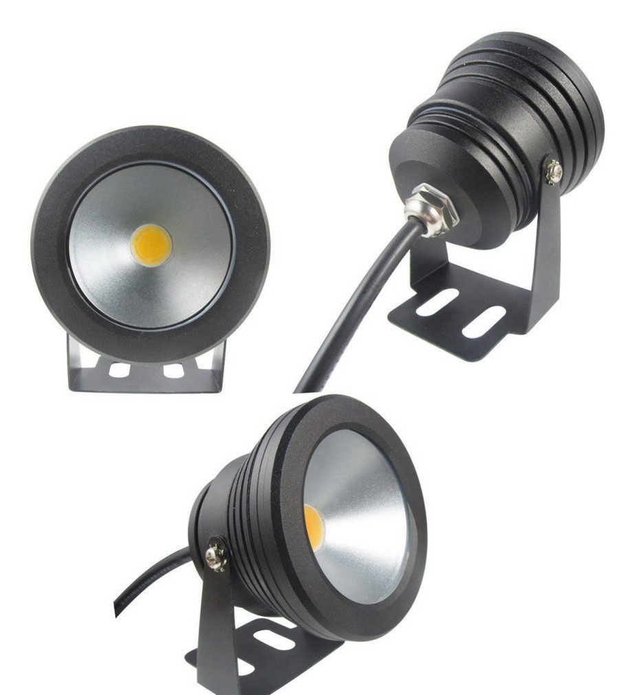 10w 12v防水ledフラッドライト水中噴水ライト洗浄池水槽水族館ライトスポットランプ屋外照明