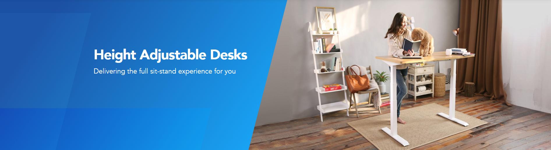 Mstar جلدية قوائم مكتب ، ذكي ارتفاع قابل للتعديل الذكية مكتب بأسعار معقولة اعتصام إلى قائم مكاتب