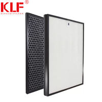 Charcoal activated hepa filters