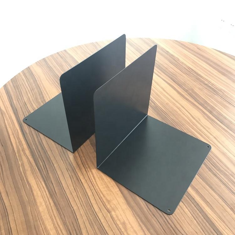 고품질 공장 가격 간단한 디자인 금속 책 스탠드 홀더/Bookends 데스크