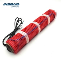 Safty electrical underfloor heating system mat
