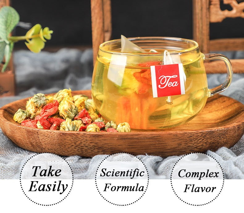 Hot selling high quality and Goji Berry&Chrysanthemum Tea - 4uTea | 4uTea.com