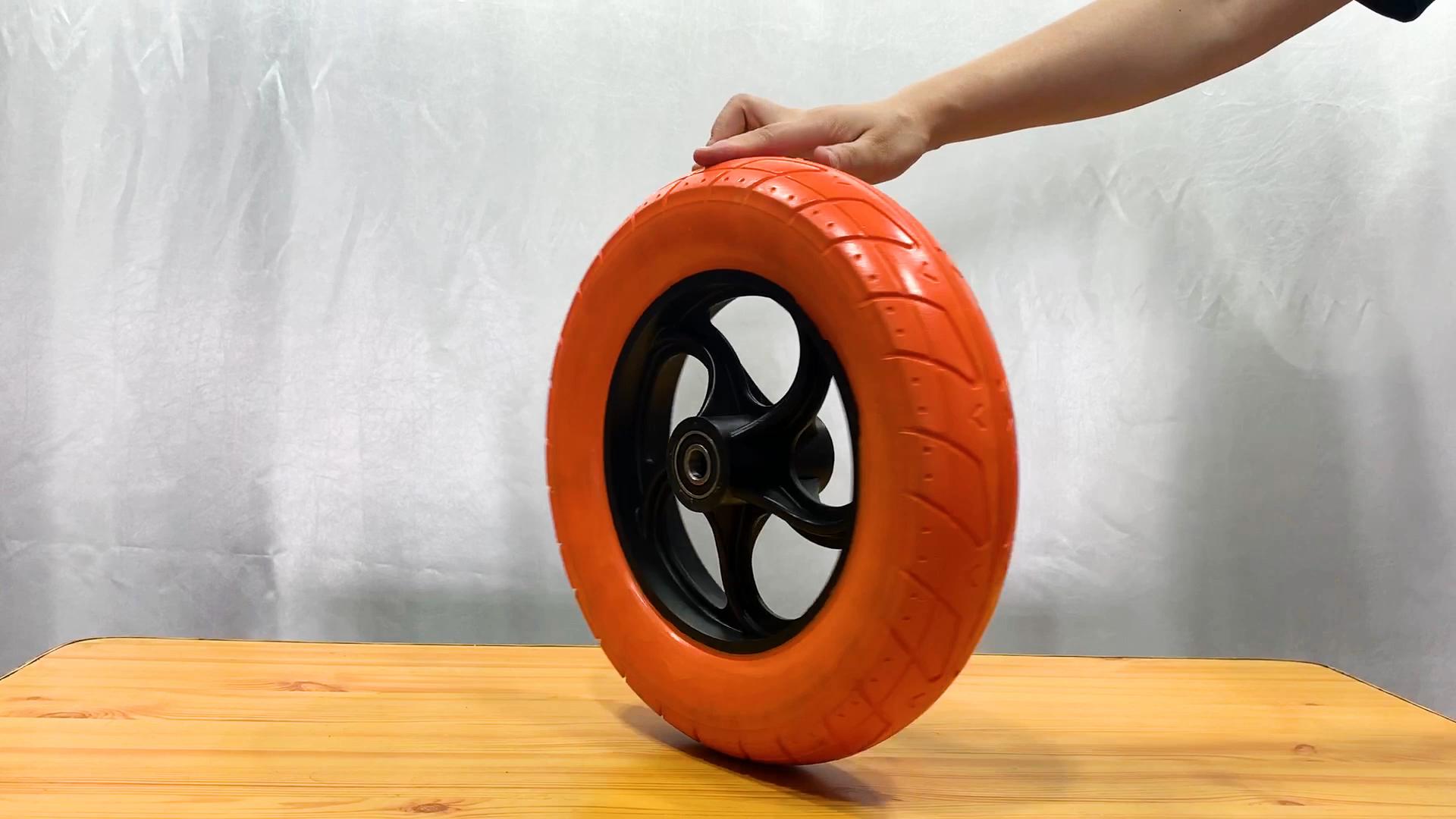 Alibaba Fornecedor China heavy duty rodízio do plutônio roda de espuma