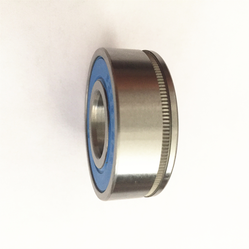 Non-standard deep groove ball bearing 17*40*14mm with groove