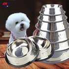 Hot sale stainless steel bowl for dog Stainless Steel Dog Bowl Puppy Cat Pet Food Water Bowl