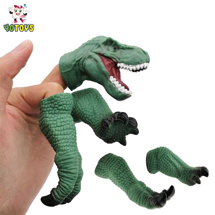 Сделано в Китае ПВХ динозавр пальцевые игрушки подарки для детей животных образовательные игрушки динозавр игрушки для детей