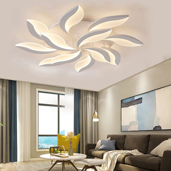 New product creative flower hanging home hotel residential led ceiling lights