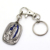 Wholesale Cheap Custom Metal 3D Silver Christian Religious Keychain