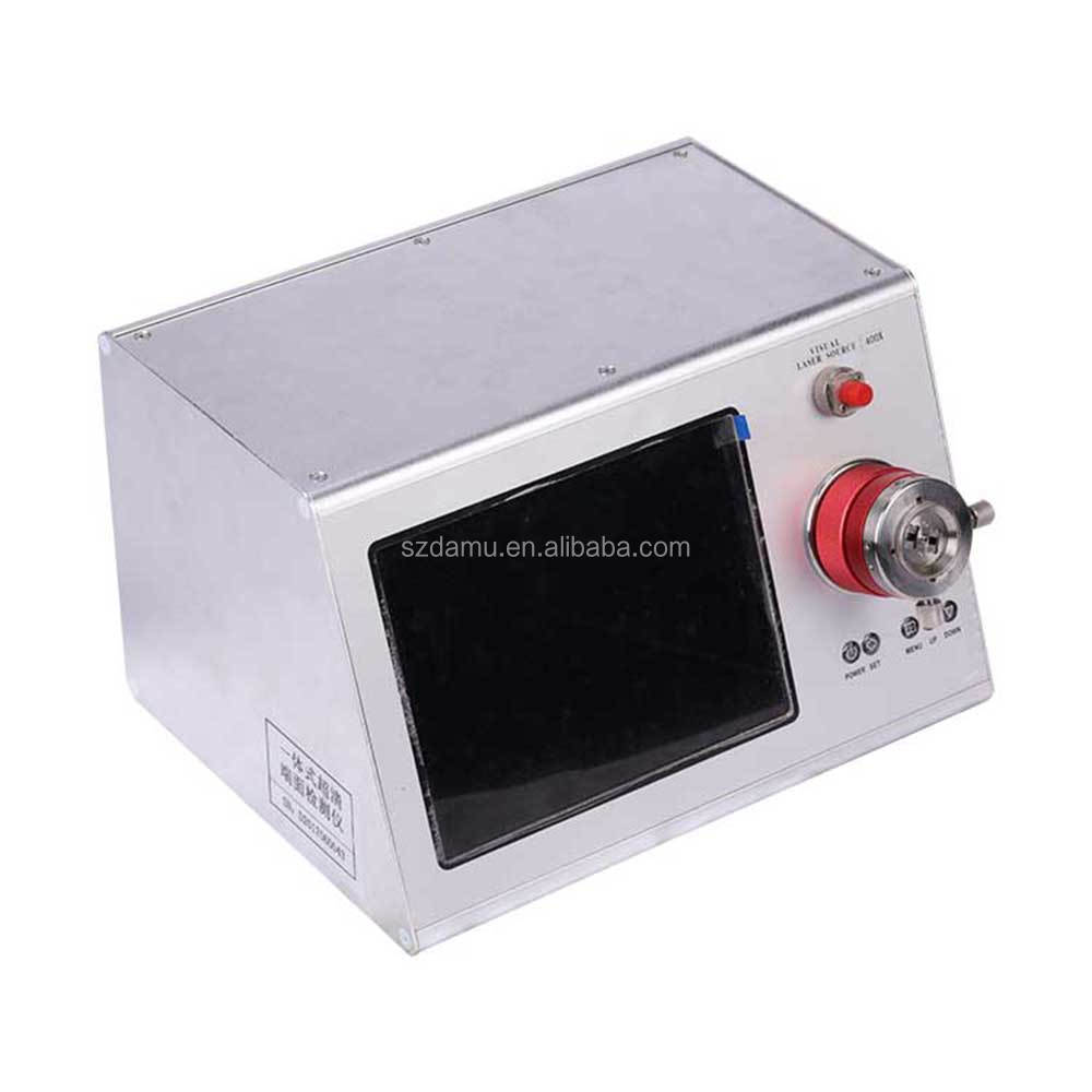 섬유 끝면 검출기 표면 200X 400X 압착 섬유 + 광섬유 + 장비 광섬유 현미경