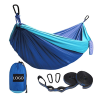Manufacturer LOW MOQ Fast Delivery Custom Double and Single Travel Lightweight Camping Hammock Outdoors