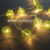 Tomtoy 10 LED Rattan Ball String Light for Holiday Decoration
