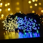 Decoration Lights Lights Outdoor Decoration Lights Newish Hot Sale 100 Bulbs 12M Bulk Holiday Twinkly Outdoor Tree Decoration Solar String Chain Rice Night Led Christmas Lights