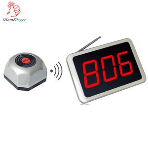 China manufacturer wireless restaurant calling waiter use equipment